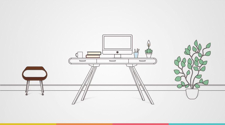 Infográfico: 9 dicass para garantir a produtividade home office | tutano