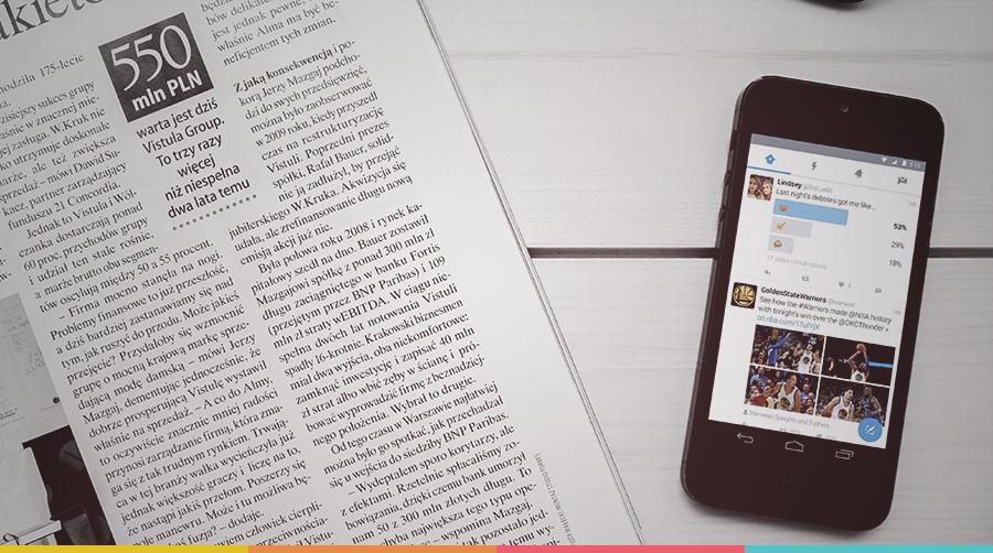 As redes sociais estão substituindo o jornalismo?