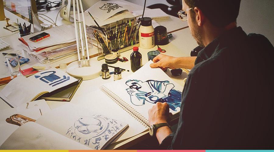 Modelo de vaga Ilustrador | tutano