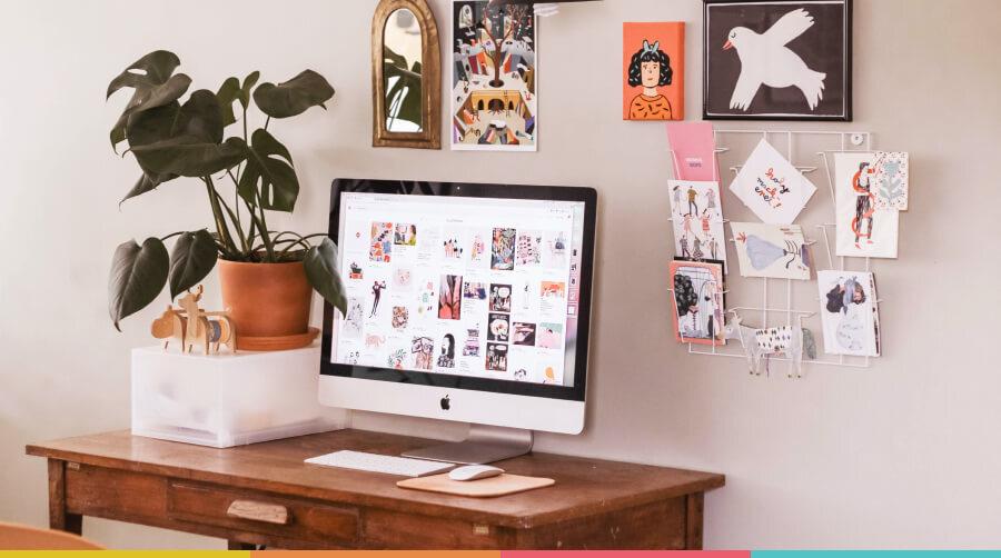 Produtividade e ergonomia: a melhor maneira de organizar sua mesa ...